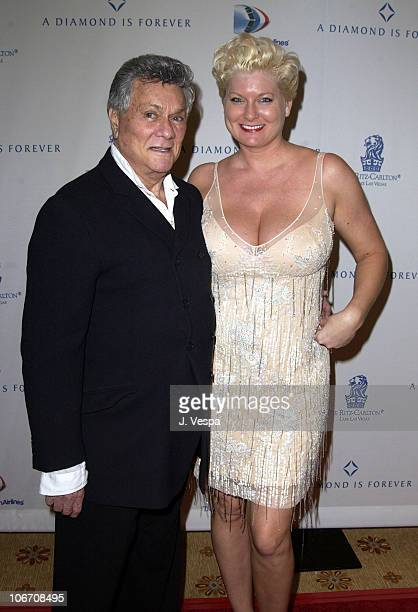 Tony Curtis and wife Jill Vandenberg during Diamonds and the Power of Love Exhibit Opening at the New Ritz Carlton Lake Las Vegas Hotel at Ritz...