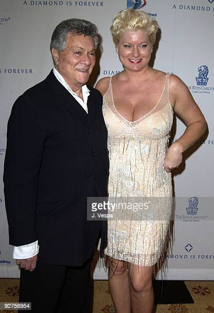 Tony Curtis and wife Jill Vandenberg
