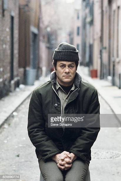Tony Curtis as Albert DeSalvo in the film The Boston Strangler