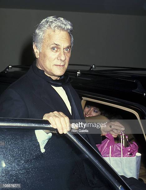 Tony Curtis during AFI Lifetime Achievement Award to Billy Wilder at Beverly Hilton Hotel in Beverly Hills California United States