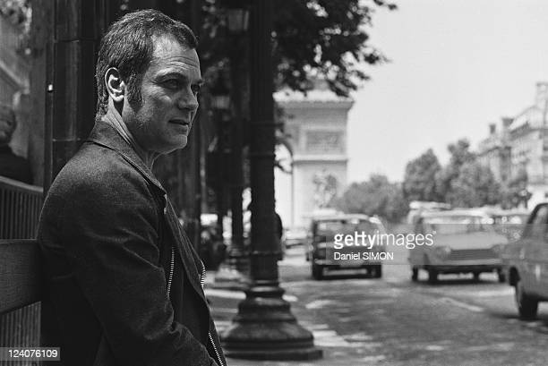 Tony Curtis in Paris France on June 19 1973