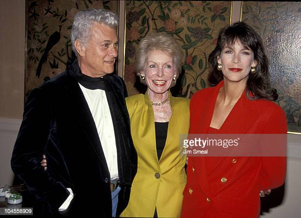 Tony Curtis Janet Leigh and Jamie Lee Curtis