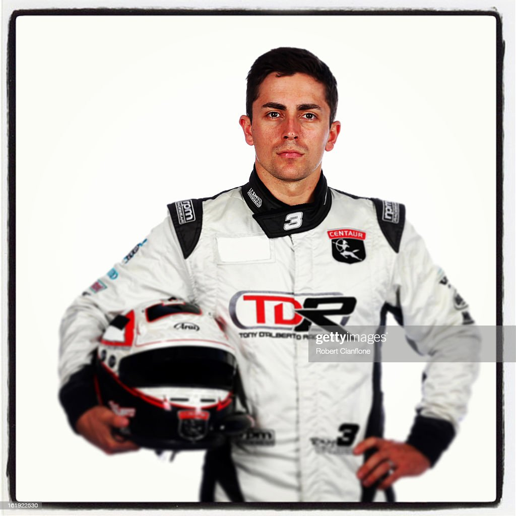 Tony D'Alberto of Tony D'Alberto Racing during a V8 Supercars driver portrait session at Eastern Creek on February 15, 2013 in Sydney, Australia.