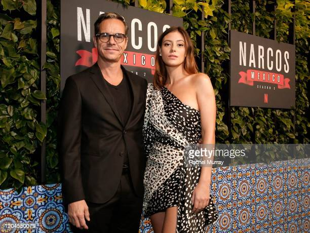 Tony Dalton and Alejandra Guilmant attend a special screening of NARCOS MEXICO Season 2 presented by Netflix at Netflix Offices on February 06 2020...
