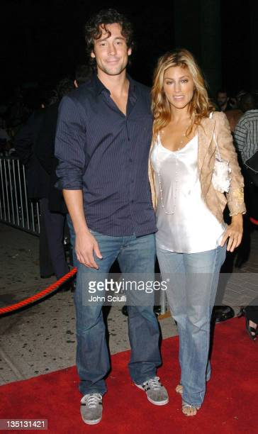 Tony Daly and Jennifer Esposito during 2004 Toronto International Film Festival Haven Premiere at Ryerson in Toronto Ontario Canada