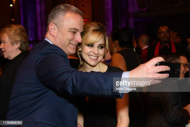 Tony Danza and Cara Buonoattend the 2019 2nd Annual ADAPT Leadership Awards at Cipriani 42nd Street on March 14 2019 in New York City