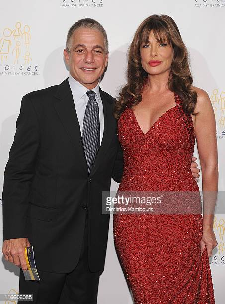 Tony Danza and Kelly LeBrock attend the Voices Against Brain Cancer 2011 benefit at the Hammerstein Ballroom on June 16 2011 in New York City