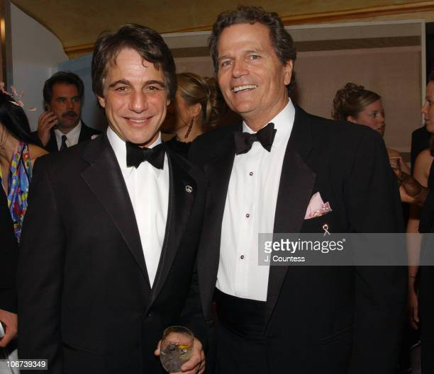 Tony Danza and Patrick Wayne during 11th Annual QVC FFany Shoes on Sale Benefiting Breast Cancer Research and Education Inside at Hammerstein...