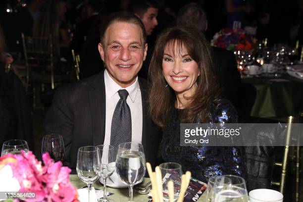 Tony Danza and Susan Lucci attend the 2019 2nd Annual ADAPT Leadership Awards at Cipriani 42nd Street on March 14 2019 in New York City