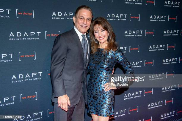 Tony Danza and Susan Lucci attend the 2019 Adapt Leadership Awards at Cipriani 42nd Street on March 14 2019 in New York City