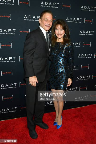 Tony Danza and Susan Lucci attend the The 2019 2nd Annual ADAPT Leadership Awards at Cipriani 42nd Street on March 14 2019 in New York City