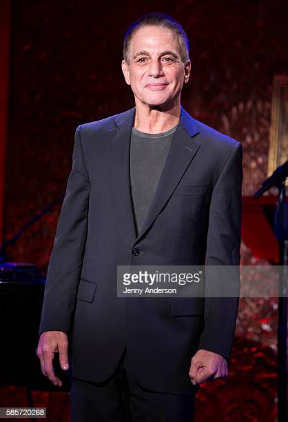 Tony Danza attends a press preview at 54 Below on August 3 2016 in New York City
