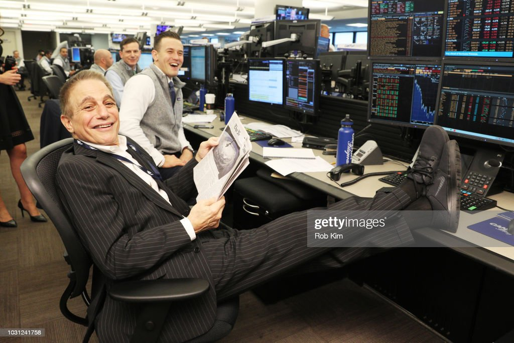 Annual Charity Day Hosted By Cantor Fitzgerald, BGC and GFI - Cantor Fitzgerald Office - Inside : News Photo