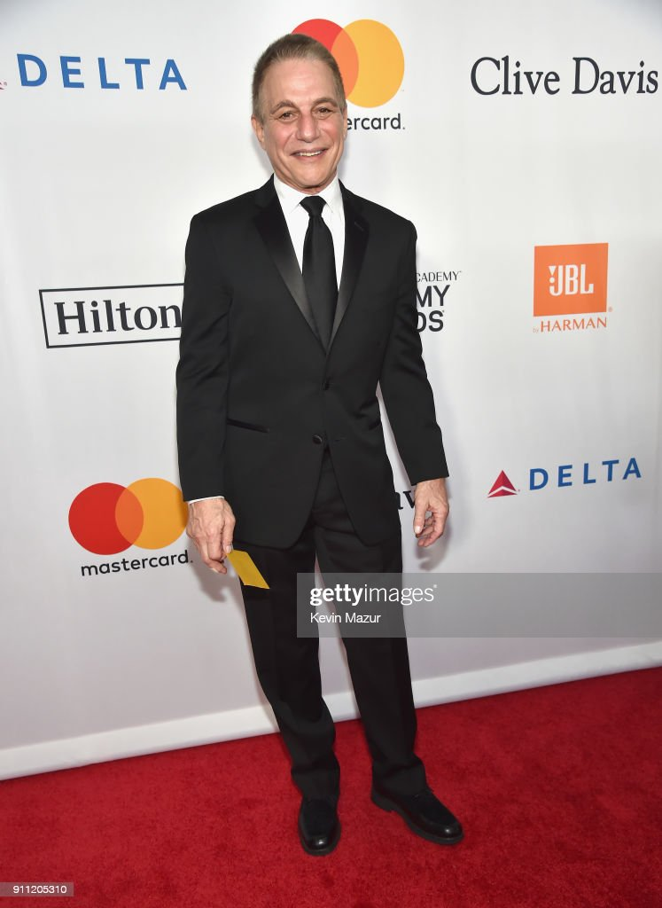 Tony Danza attends the Clive Davis and Recording Academy Pre-GRAMMY Gala and GRAMMY Salute to Industry Icons Honoring Jay-Z on January 27, 2018 in New York City.