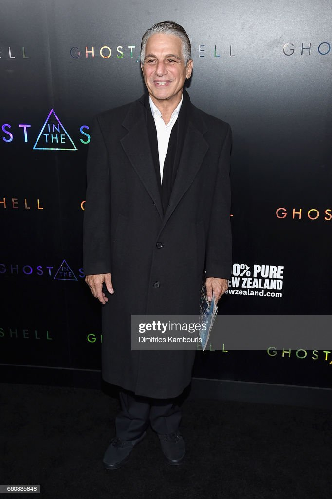 Tony Danza attends the 'Ghost In The Shell' premiere hosted by Paramount Pictures & DreamWorks Pictures at AMC Lincoln Square Theater on March 29, 2017 in New York City.