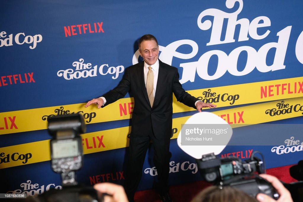 New York Premiere of Netflix's Original Series 'The Good Cop' : Nachrichtenfoto