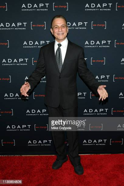 Tony Danza attends the The 2019 2nd Annual ADAPT Leadership Awards at Cipriani 42nd Street on March 14 2019 in New York City