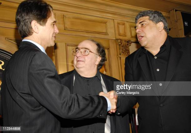Tony Danza, Chi Chi and Vincent Pastorie during Tony Danza Speaks at the Friars Club Celebrity Luncheon Series - March 14, 2007 at Friars Club in New...