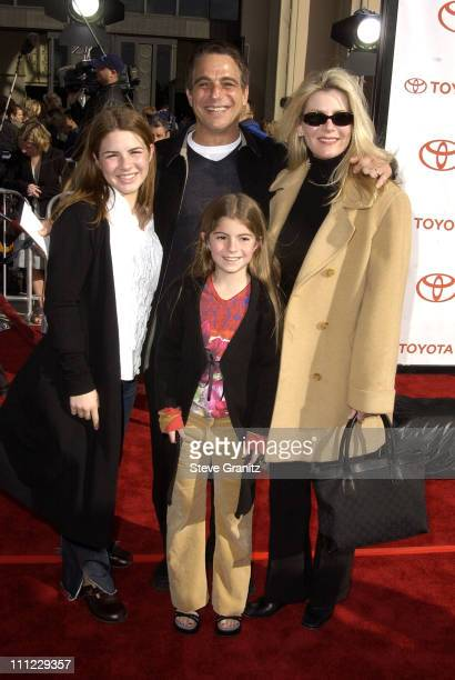 Tony Danza family during 20th Anniversary Premiere of Steven Spielberg's ET The ExtraTerrestrial Arrivals at The Shrine Auditorium in Los Angeles...