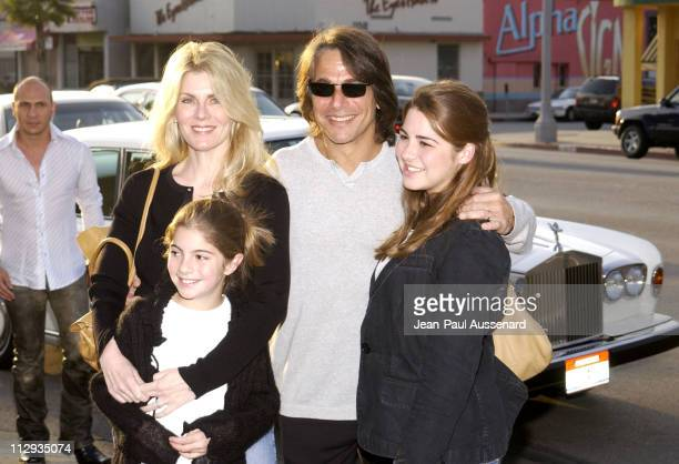 Tony Danza family during Opening of Belle Gray Lisa Rinna's New Clothing Boutique at Belle Gray in Sherman Oaks California United States