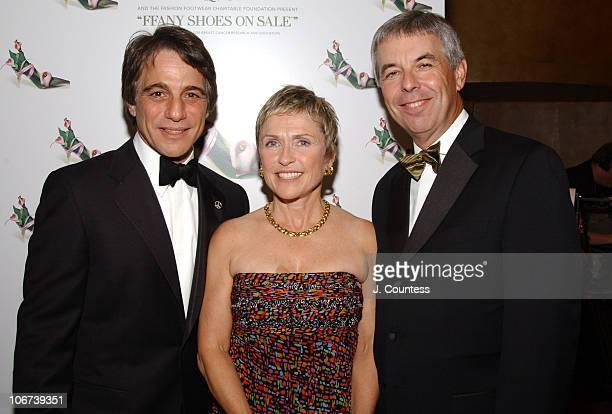 Tony Danza, Peggy Briggs and Doug Briggs, president/CEO of QVC