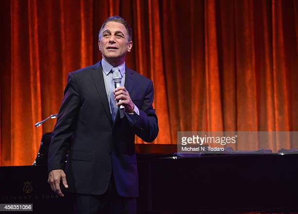 Tony Danza performs onstage at the 8th Annual Exploring The Arts Gala on September 29 2014 in New York City
