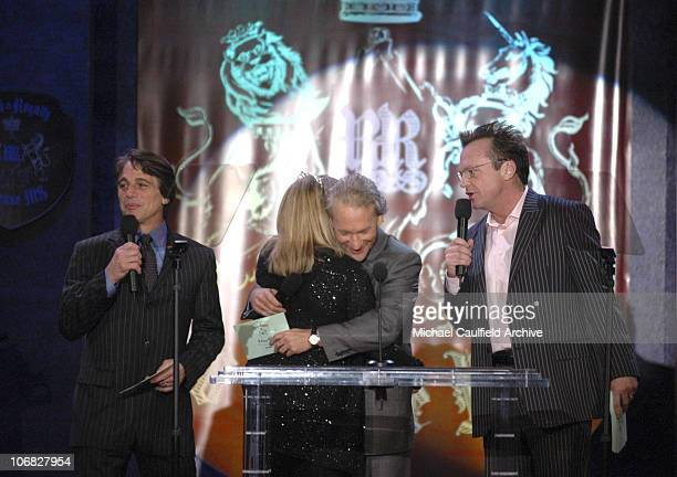 Tony Danza Teri Garr Bill Maher and Tom Arnold during 12th Annual Race to Erase MS CoChaired by Tommy Hilfiger and Nancy Davis Silent Auction at The...
