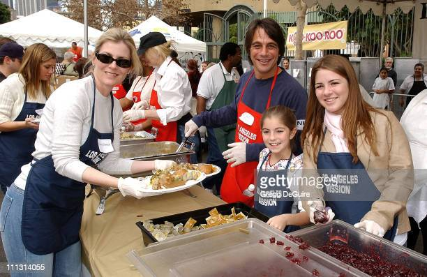 Tony Danza, wife Tracy and daughters Emily & Katie