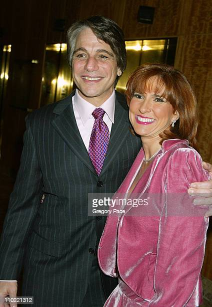 Tony Danza with Marilyn Milian of The People's Court