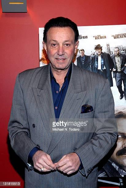 Tony Darrow attends the premiere of 'Kill the Irishman' at Landmark's Sunshine Cinema on March 7 2011 in New York City