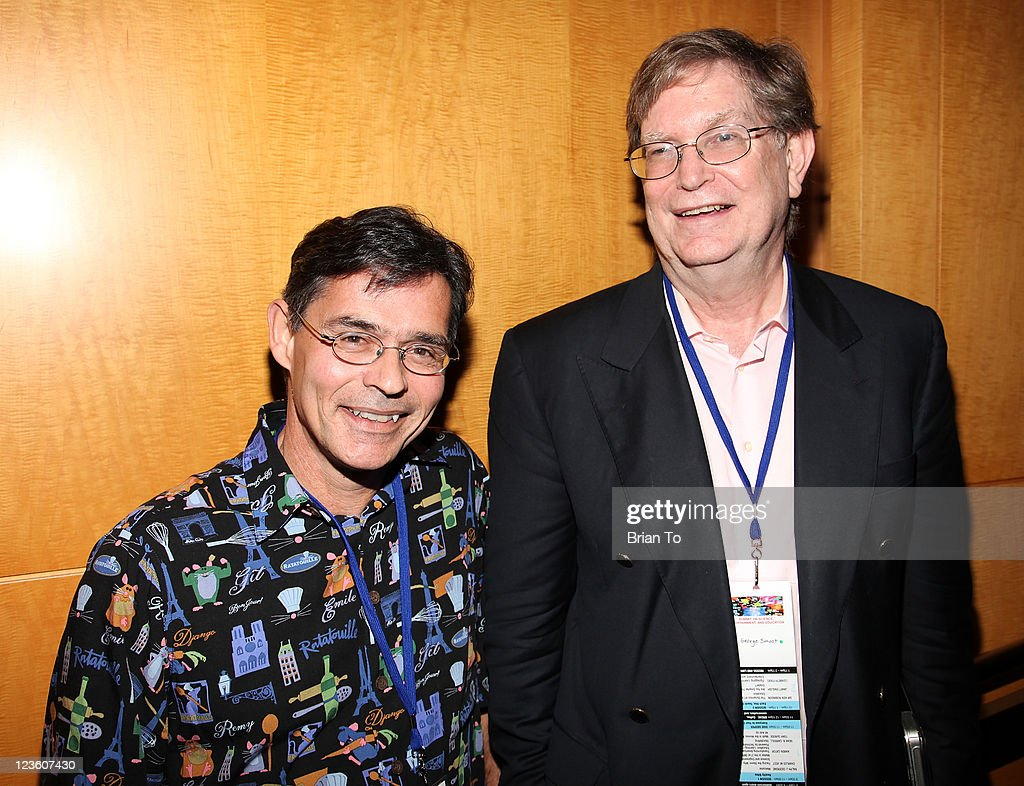 Tony DeRose and George Smoot attend Science & Entertainment Exchange Summit at The Paley Center for Media on February 4, 2011 in Beverly Hills, California.