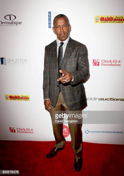 Tony Dorsett at the 17th Annual Harold Carole Pump Foundation Gala at The Beverly Hilton Hotel on August 11 2017 in Beverly Hills California