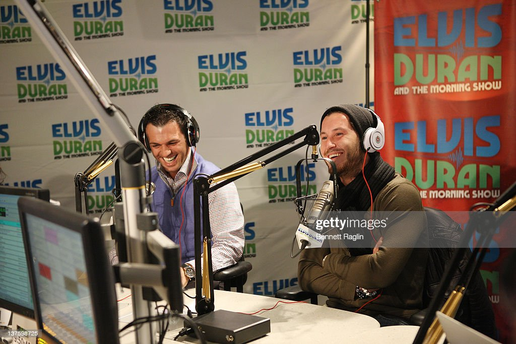 "Cast Members Of ""Dancing With The Stars"" Visit ""The Elvis Duran Z100 Morning Show"""