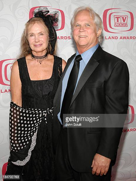Tony Dow and guest during 5th Annual TV Land Awards Arrivals at Barker Hanger in Santa Monica CA United States