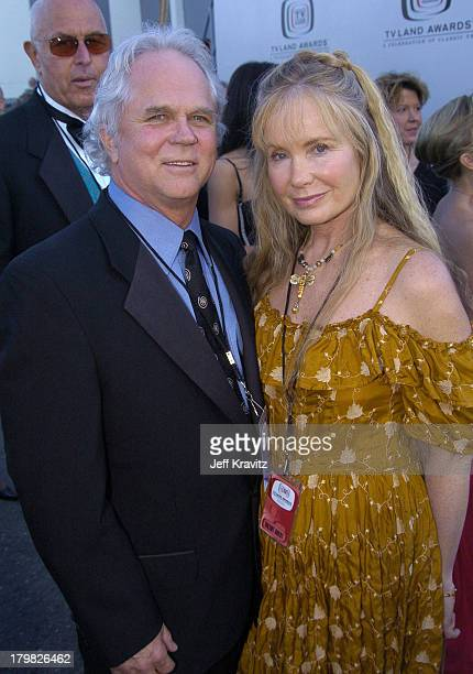 Tony Dow and Lauren Shulkind during 2004 TV Land Awards airing March 17 2004 Red Carpet Arrivals at The Palladium in Hollywood California United...