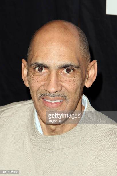 """Tony Dungy promotes the new book """"You Can Be A Friend"""" at Bookends Bookstore on January 17, 2011 in Ridgewood, New Jersey."""