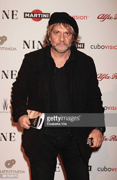 Tony Esposito attends the Rome screening of 'NINE' cohosted by Martini at the Auditorium Conciliazione on January 13 2010 in Rome Italy