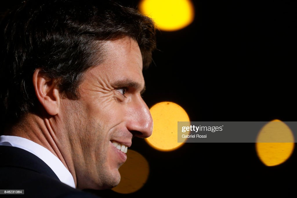Tony Estanguet, IOC member, Co-Chairman Paris 2024 and former Olympic athlete looks on during the red carpet prior to the Opening Ceremony of the IOC Lima 2017 Session the at Teatro Nacional de Lima on September 12, 2017 in Lima, Peru.