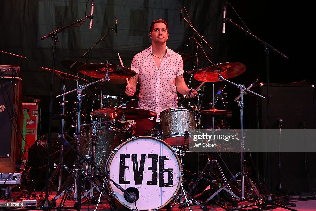 Tony Fagenson of Eve 6 performs at The Greek Theatre on July 19, 2015 in Los Angeles, California.