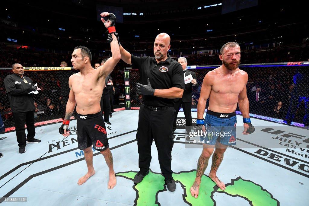 UFC 238: Ferguson v Cerrone : News Photo
