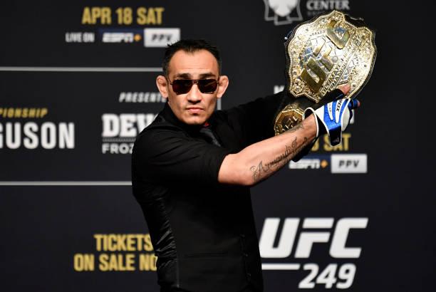 NV: UFC 249 Khabib v Ferguson: Press Conference