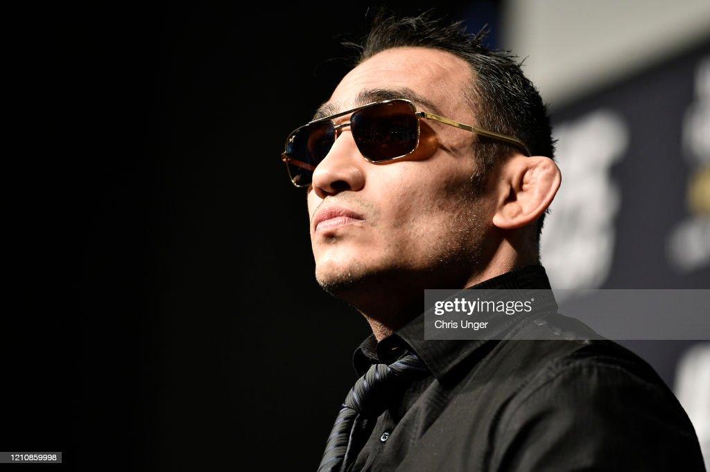 UFC 249 Khabib v Ferguson: Press Conference : News Photo