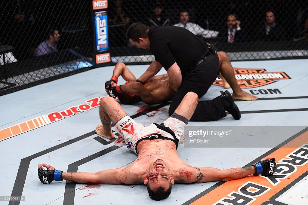 The Ultimate Fighter Finale: Edgar v Mendes