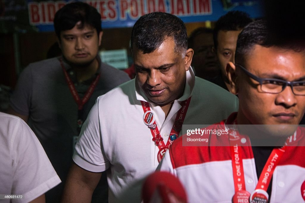 AirAsia Bhd. Group Chief Executive Officer Tony Fernandes As Debris And Bodies From Missing Jet Found