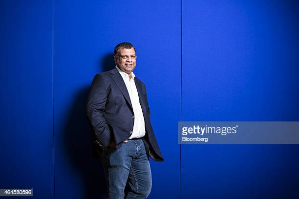 Tony Fernandes chief executive officer of AirAsia Bhd poses for a photograph in Kuala Lumpur Malaysia on Friday Feb 27 2015 AirAsia has good...