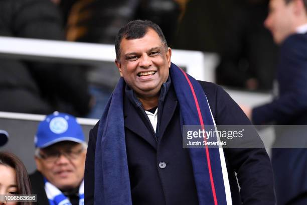 Tony Fernandes during the Sky Bet Championship match between Queens Park Rangers and Preston North End at Loftus Road on January 19 2019 in London...