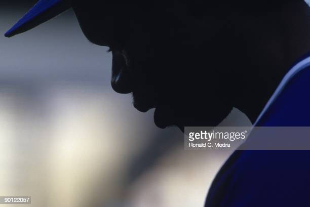 Tony Fernandez the Toronto Blue Jays during a MLB game against the New York Yankees at Yankee Stadium on June 8 1987 in the Bronx New York