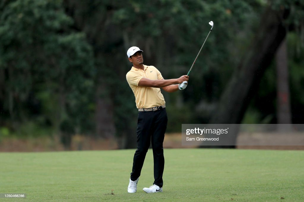 RBC Heritage - Round One : News Photo