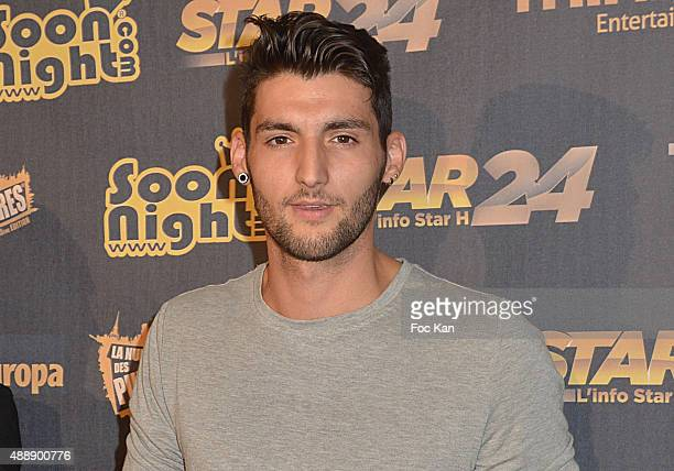 Tony from Secret Story attends the '35th Nuit des Publivores' at Grand Rex September 17 2015 in Paris France