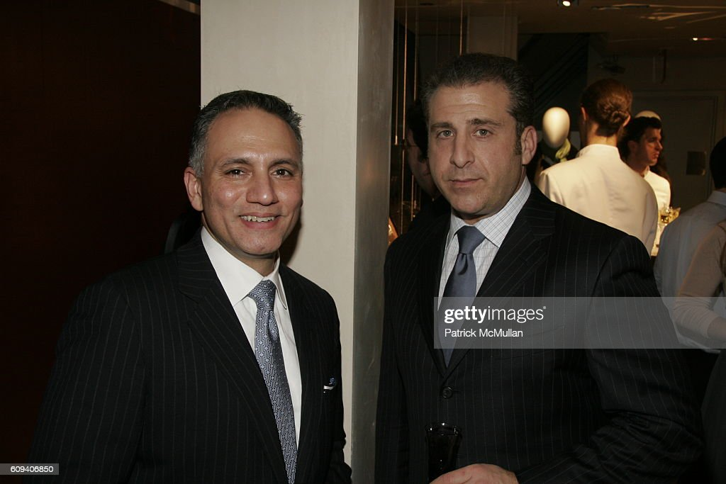 Tony Fuccillo and R  Scott Montemurro attend HERMES Hosts a